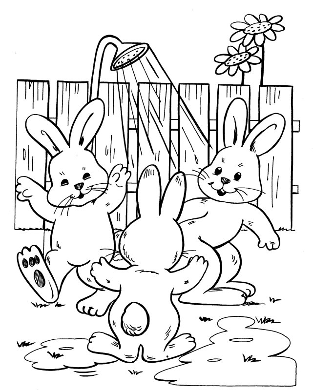 Sprinkler Coloring Pages