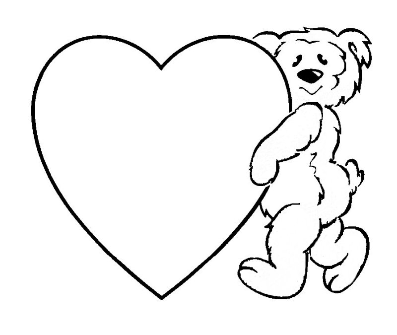 zebra print heart coloring pages - photo #46