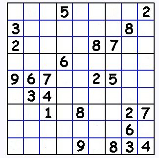 Sudoku Printable on Sudoku Puzzles For Kids